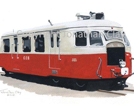 313 CFD Billard A80D Railcar No.313