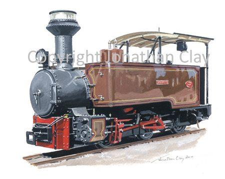 323 Statfold Barn Railway Fowler 0-4-2T Saccharine