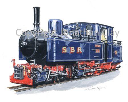 324 Statfold Barn Railway 0-4-4-0T Mallet No.9