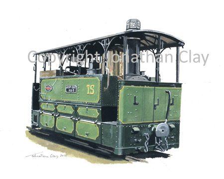 329 Tramways de la Sarthe Blanc Misseron 0-6-0 Tram Locomotive No.60