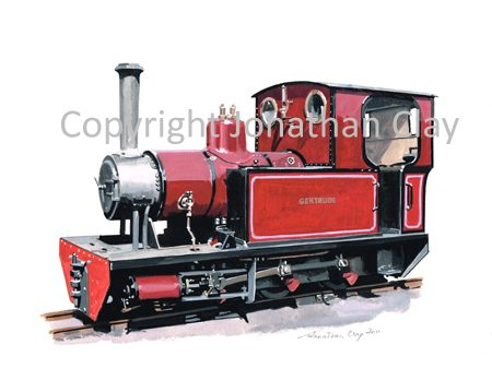 344 Welsh Highland Heritage Railway Andrew Barclay 0-6-0T 'Gertrude'