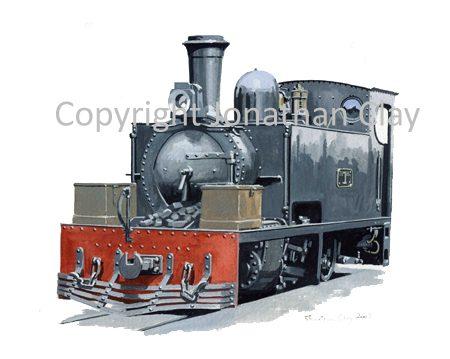 346 Tralee & Dingle Hunslet 2-6-2 T No.1