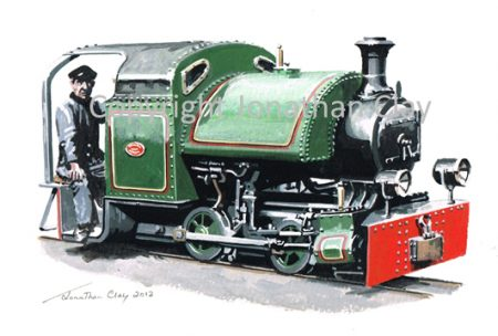 348 Cambrian Quarries 0-4-0St No.1910