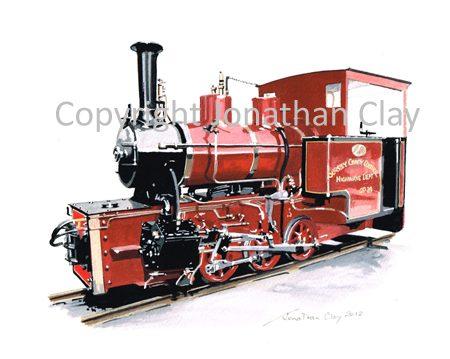 352 Statfold Barn Railway Hudswell Clarke 0-6-0WT 'Bronllwyd' (SCC Livery)