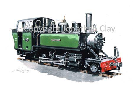 356 Alco 2-6-2T Mountaineer (Green)