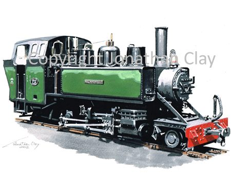 356 Alco 2-6-2T Mountaineer (Green)