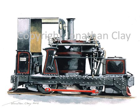 361 0-4-0VBT Chaloner  (with cab)