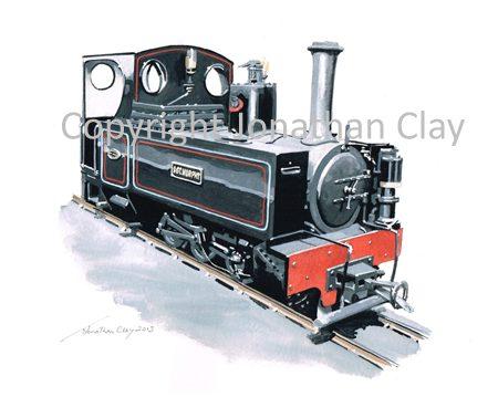 365 Teifi Valley Railway 'Haig' Class 0-6-0T 'Sgt. Murphy'