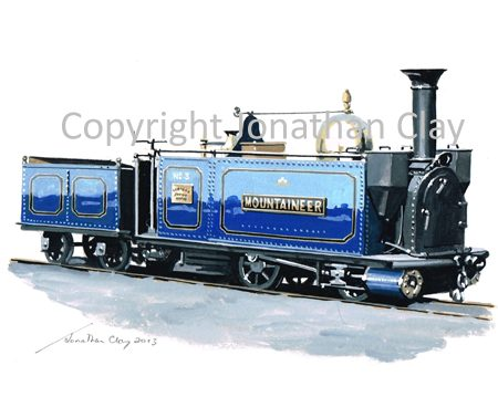 382 George England 0-4-0T+T No.3 'Mountaineer'