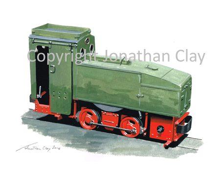 384 1920s Deutz-Oberursel Petrol loco