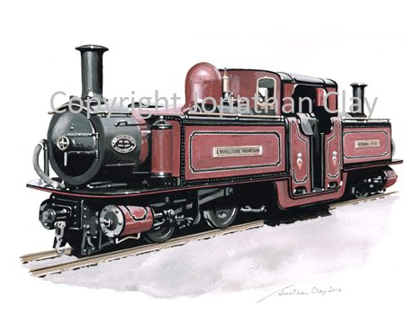 387 Double Fairlie 0-4-4-0T 'Livingstone Thompson'