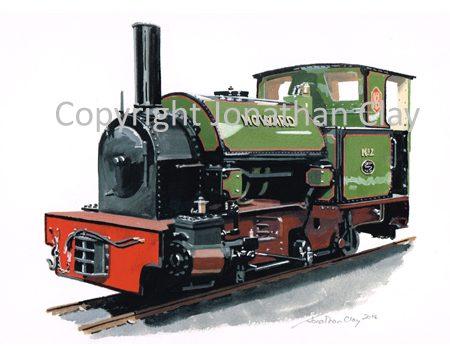 389 Statfold Barn Railway Hunslet 0-4-2ST No.2 'Howard'