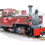 391 Welsh Highland Railway 'Russell' 2014
