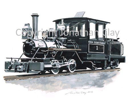 397 Statfold Barn Railway Davenport 0-4-0 No.1