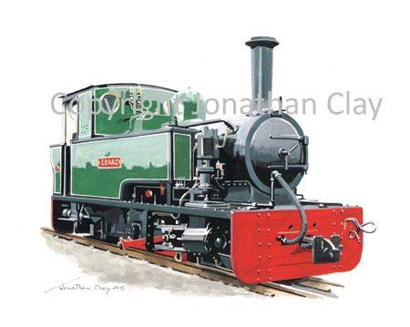 402 Lynton and Branstaple Railway Bagnall 0-4-2T Isaac