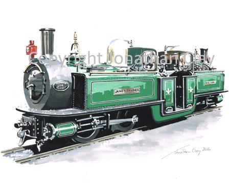 406 FR Double Fairlie 'James Spooner' - as built
