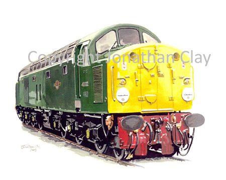 513 Class 40 Diesel No. D200