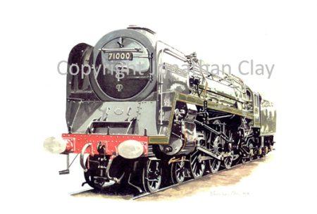 521 BR Standard 4-6-2 No.71000 Duke of Gloucester