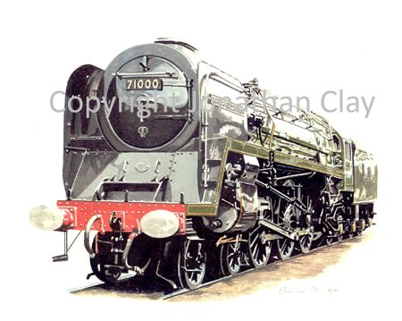 521 BR Standard 4-6-2 No.71000 Duke of Gloucester