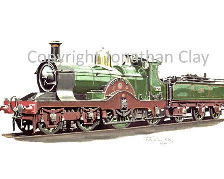524 GWR Dean Single No.3047 Lorna Doone