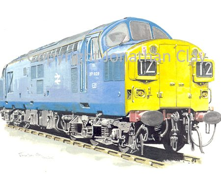 532 Class 37 Diesel No.  37029