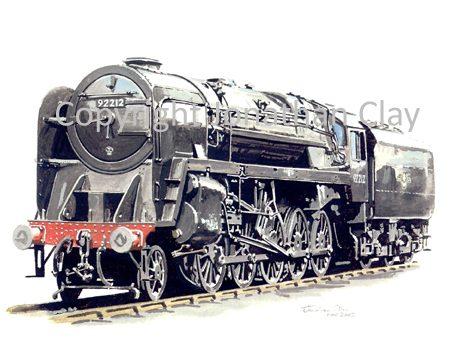 535 BR Standard Class 9F 2-10-0 No.  92212