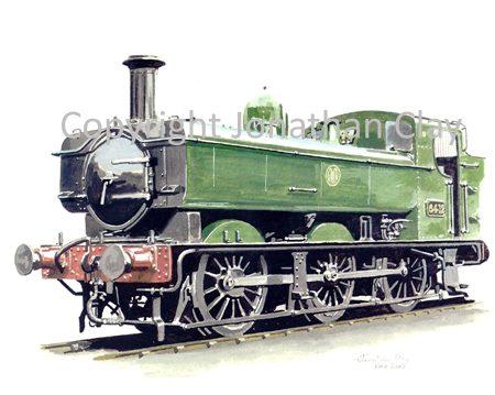 538 GWR Pannier no.6412
