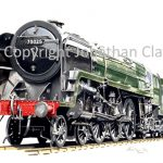 542 BR Standard 4-6-2 No.70025 Western Star