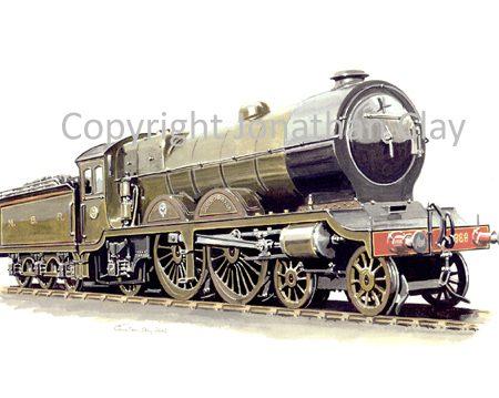 546 Ex NBR Reid Atlantic 4-4-2 No.868 Aberdonian