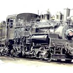 560 Cass Scenic Railroad Shay No.2
