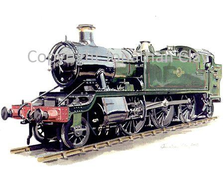 564 GWR Large Prairie  No.4141 (BR Green)