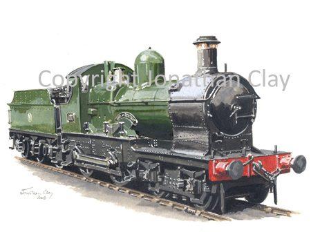568 GWR Dukedog 4-4-0 No. 3217 (GWR livery)