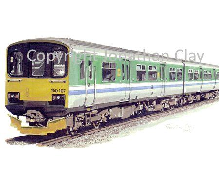 575 Midland Trains BR 2 car Class 150
