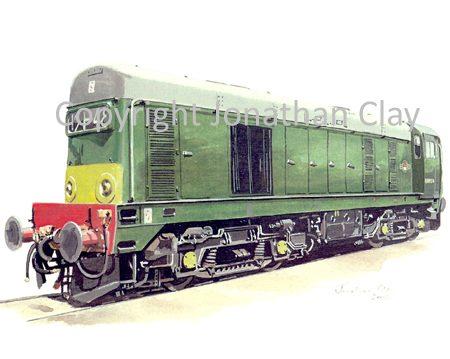 576 Class 20 Diesel No. D8054