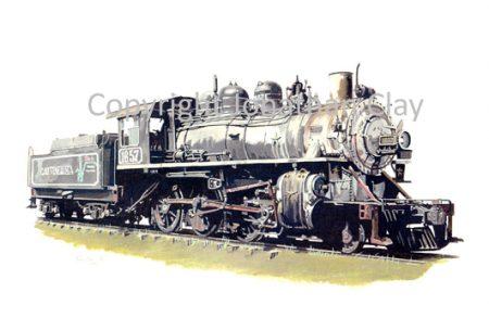 579 CAI Venezuela Alco 2-6-0 No.1667