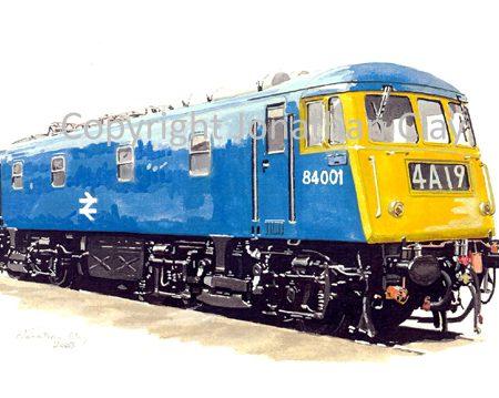 583 Class 84  Electric No. 84001