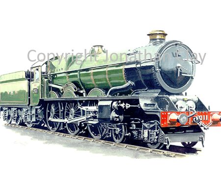 590 GWR King 4-6-0 No.6011 King James 1 (GWR livery)
