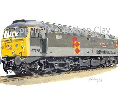 597 Class 47 Diesel No.  47375