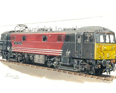 599 Class 86 Electric No. 86259 'Les Ross' (Virgin)