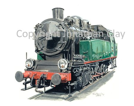 602 Tkh Class 0-8-0T No.6281 (Maldegem)
