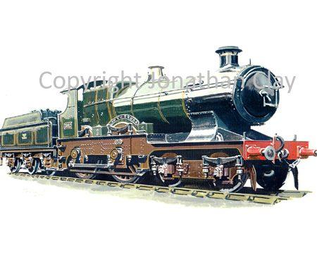 604 GWR 4-4-0 No.3440 City of Truro