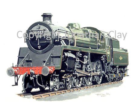610 BR Standard Class 4 4-6-0 No. 75027