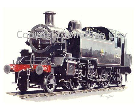 619 BR Standard Class 2 2-6-2T No 84010