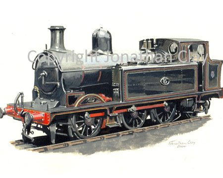 633 Taff Vale Railway 0-6-2T No.85