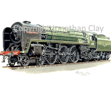 635 BR Standard 4-6-2 No.70018 Flying Dutchman