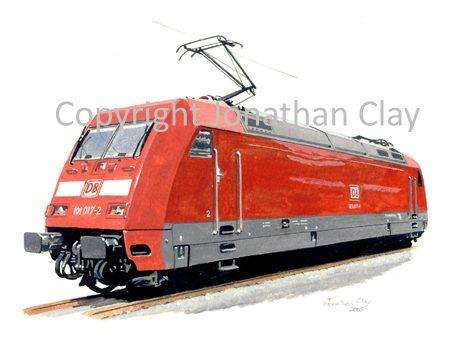638 DB Class 101 Electric Locomotive No.101 017-2