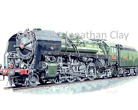 639 SNCF Class 141R 2-8-2 No.141R1045