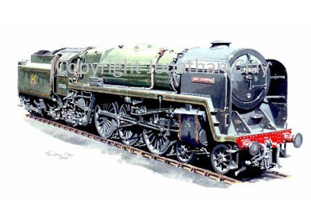643 BR Standard 4-6-2 No.70000 Britannia