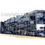 653 Southern Pacific AC12  Cab Forward No.4612