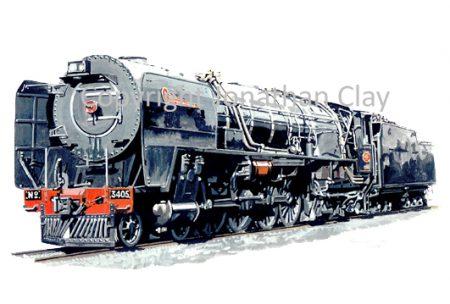 654 SAR Class 25NC No.3405